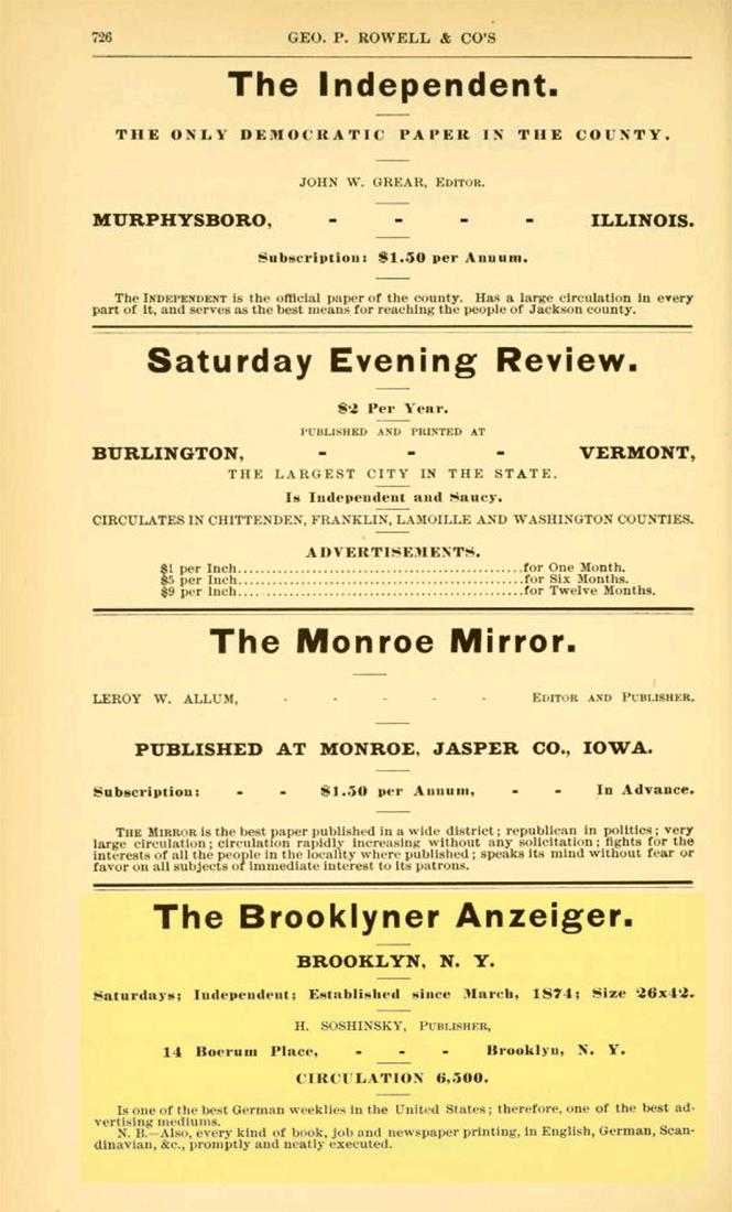 Brooklyner Anzeiger
