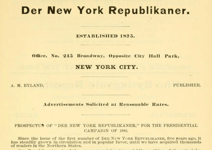 Der New-York Republikaner