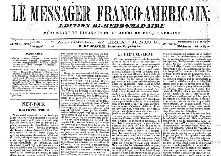 Le Messager Franco-Américain