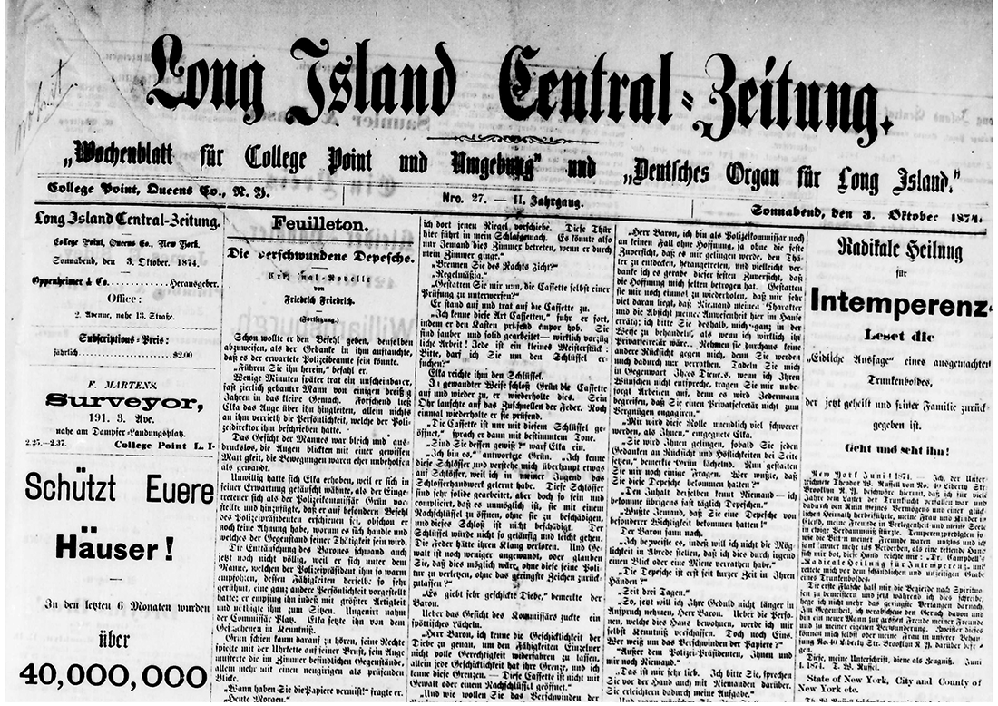 Long Island Central-Zeitung