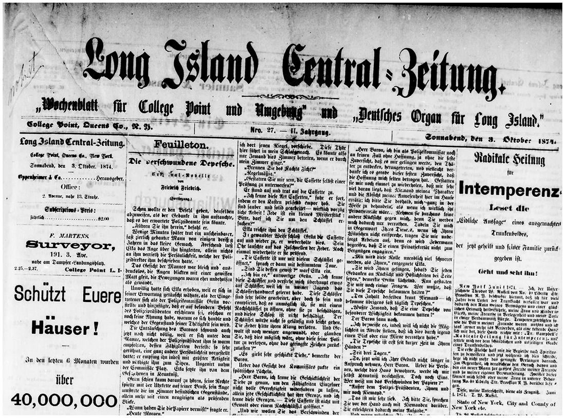 Long Island Central-Zeitung