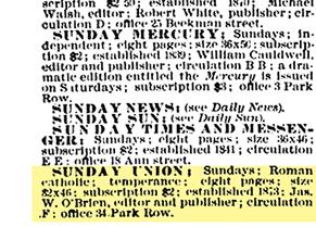 The Sunday Union